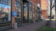 Colorado Springs old town cafe sx Stock Footage