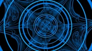 Rotating Hypnotic blue magic glow 1080 Stock Footage