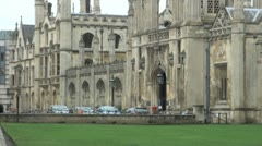 King's College, Cambridge, UK Stock Footage