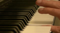 Piano Player Stock Footage