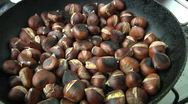 Chestnuts Stock Footage