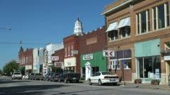 Illinois Nauvoo downtown sx - stock footage