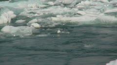 Glacier Lagoon - stock footage