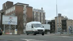 Stock Video Footage of Cambridge Biomedical Campus at Addenbrooke's Teaching Hospital in Cambridge, UK