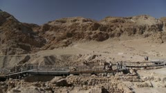 Qumran P1 Stock Footage