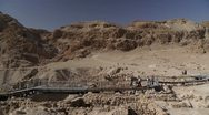 Stock Video Footage of Qumran P1