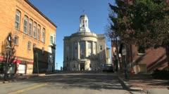 Maine Bath city hall sx Stock Footage