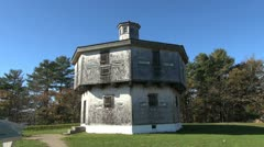 Maine Fort Edgecomb 1807 sx Stock Footage