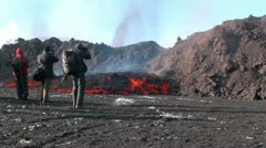 Volcanic Eruption - stock footage