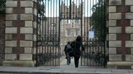 Jesus College, Cambridge, UK Stock Footage