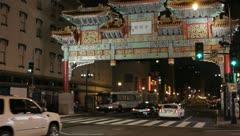Washington DC - ChinaTown - stock footage
