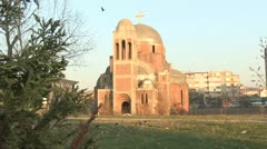 Orthodox Church Kosovo Stock Footage