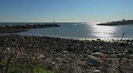 Maine York River esturary sx Stock Footage