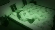 10650 sleepless sleep night camera time lapse wide2 Stock Footage