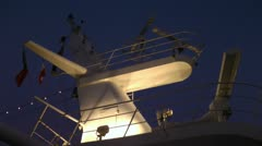 Marine radar Stock Footage