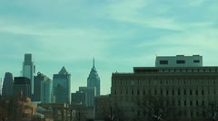 Philly City Still - stock footage