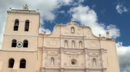 Comayagua Cathedral Timelapse with Birds Stock Footage