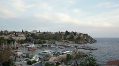 Antalya Marina - stock footage