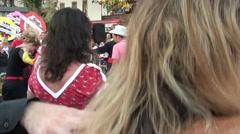 People dancing folk dance 4 Stock Footage