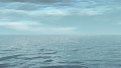 water and sky 02 - stock footage