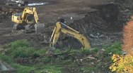 Stock Video Footage of excavator