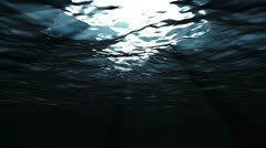 (SEAMLESS LOOPING) Dark Water Stock Footage
