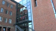 The RSC Royal Shakespeare Company Theatre, Stratford Upon Avon, UK Stock Footage