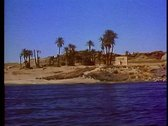 Stock Video Footage of The Nile River at Aswan 108003