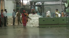 Unloading Cotton Stock Footage