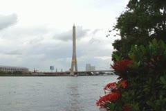 River Chao Praya Stock Footage