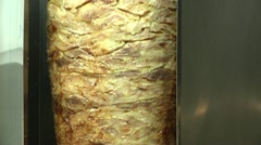 Gyros, Doner Kebab, Shawarma. Stock Footage