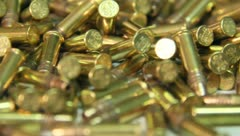 Bullets 22 Shells 5 - stock footage
