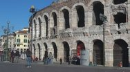 Stock Video Footage of Verona Arena, Italy