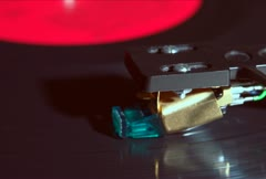 Turntable and Cartridge NTSC Stock Footage
