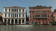 Time Lapse of Grand Canal in Venice, Italy, people boats and gondolas trip tour Stock Footage