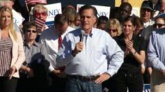 Mitt Romney On America Stock Footage