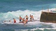 Stock Video Footage of Bondi Beach, Sydney, Australia - Full HD PT30