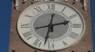 Stock Video Footage of Beautiful city clock