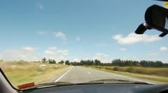 NZ Lake 01 - stock footage