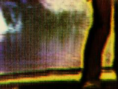 TV Noise - 9 - stock footage