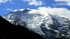 Jungfrau Valley Time Lapse - stock footage