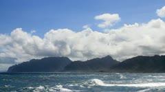 Windward Coast of Oahu, Hawaii - stock footage