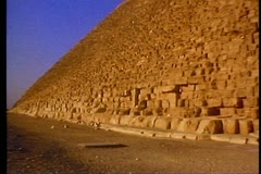 The Great Pyramid of Giza 108032 Stock Footage
