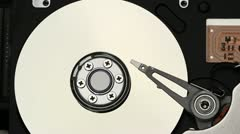 Hard Drive Insides Stock Footage