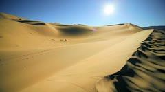 Arid Desert Landscape Environment Stock Footage