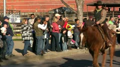 Longhorn Roundup Fort Worth Texas - stock footage