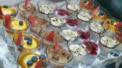 Desert With Fruits - stock footage