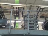 Stock Video Footage of Mass press daily edition. Equipment for printing newspaper.