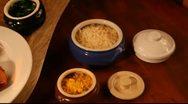 Roast chicken Stock Footage