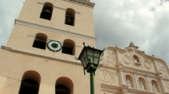 Central American Cathedral Dramatic - stock footage